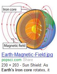 iron core - Earth
